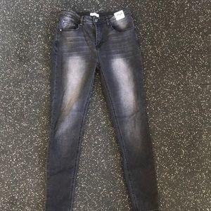 Black high rise Kensie jeans